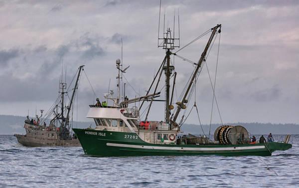 Photograph - Pender Isle And Santa Cruz by Randy Hall