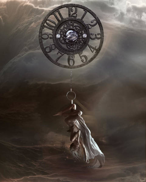Wall Art - Digital Art - Pendulum by Karen Koski