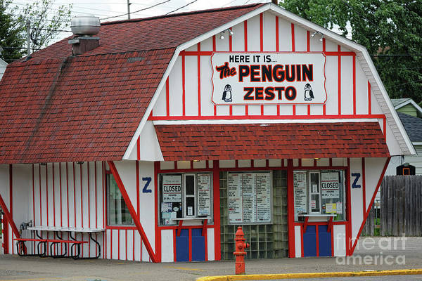 Photograph - Penguin Zesto East In Winona, Mn By Yearous by Kari Yearous