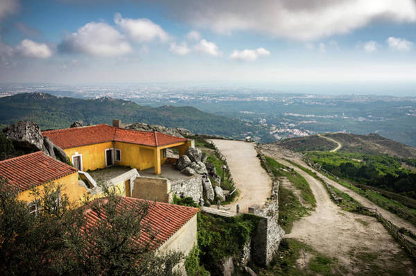 Wall Art - Photograph - Peninha Sanctuary In Sintra by Carlos Caetano