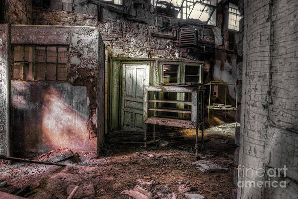 Photograph - Penitentiary Abandoned by Anthony Sacco