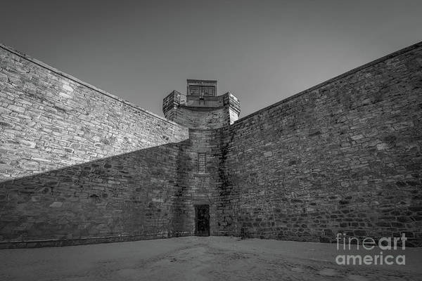 Wall Art - Photograph - Penitentiary Bw by Michael Ver Sprill