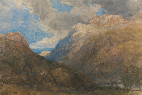 Painting - Penmanmawr by David Cox