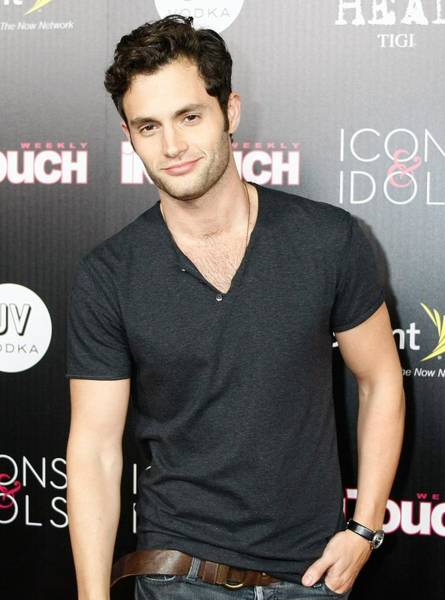 2010s Fashion Wall Art - Photograph - Penn Badgley At Arrivals For In Touch by Everett