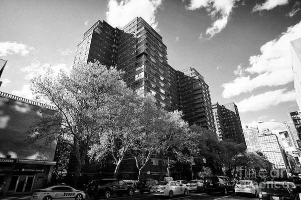 Wall Art - Photograph - penn south coops mutual redevelopment houses affordable housing blocks chelsea New York City USA by Joe Fox