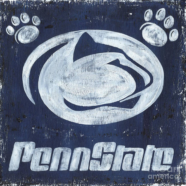 Wall Art - Painting - Penn State by Debbie DeWitt