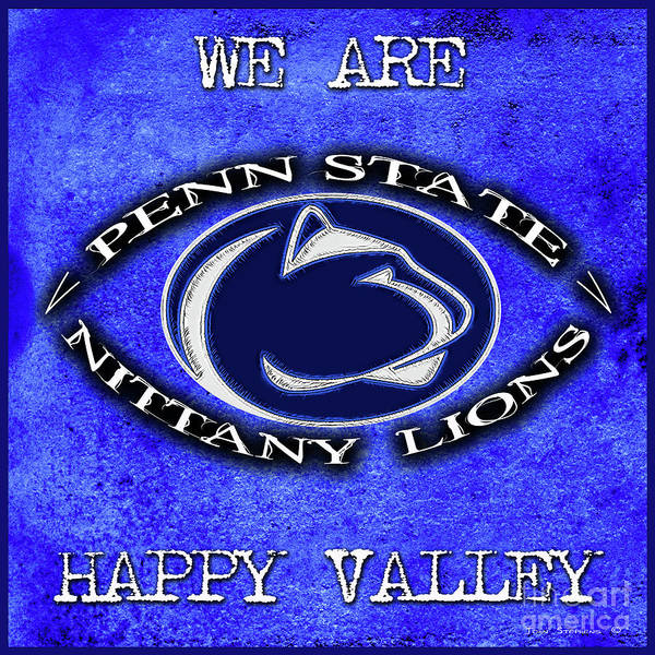 Wall Art - Photograph - Penn State Nittany Lion Football Attitude by John Stephens