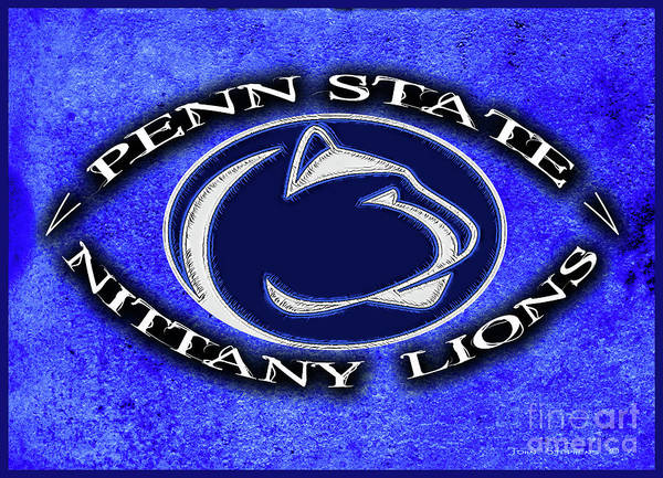 Wall Art - Photograph - Penn State Football Nittany Lion Attitude by John Stephens