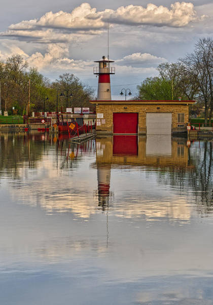 Photograph - Tenney Lock 2 - Madison - Wisconsin by Steven Ralser