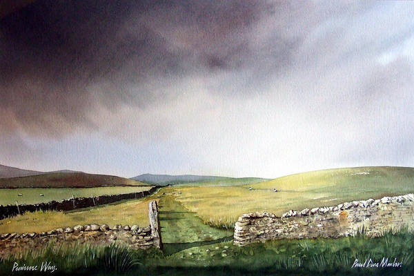 Wall Art - Painting - Pennine Way by Paul Dene Marlor