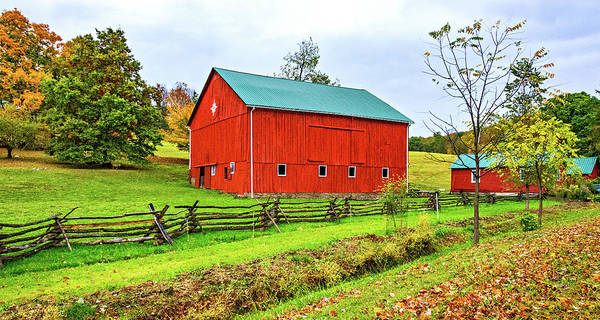 Wall Art - Photograph - Pennsylvania Barn 7 by Steve Harrington