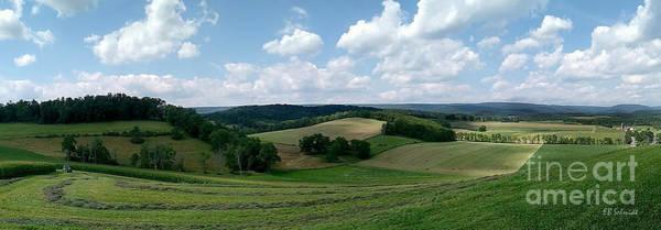 Photograph - Pennsylvania Farmland by E B Schmidt