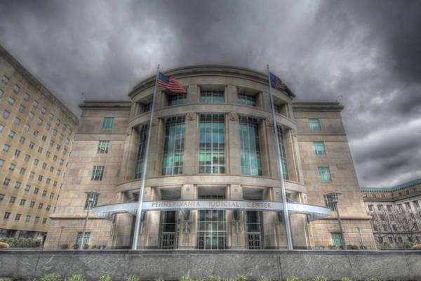 Photograph - Pennsylvania Judicial Center by Shelley Neff