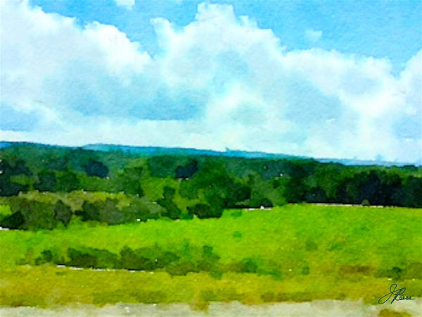 Painting - Pennsylvania Landscape by Joan Reese