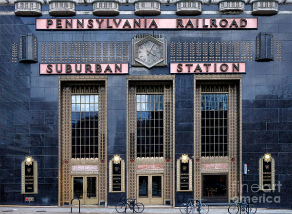Photograph - Pennsylvania Railroad Suburban Station by Olivier Le Queinec