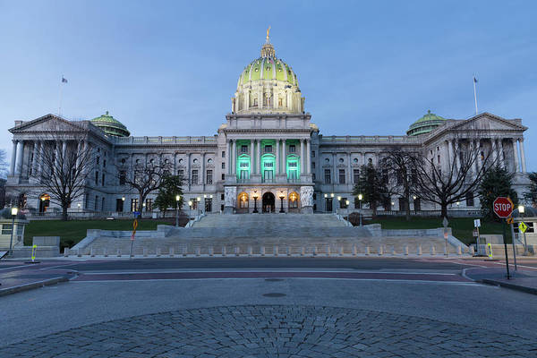 Photograph - Pennsylvania State Capitol Building  by Kyle Lee