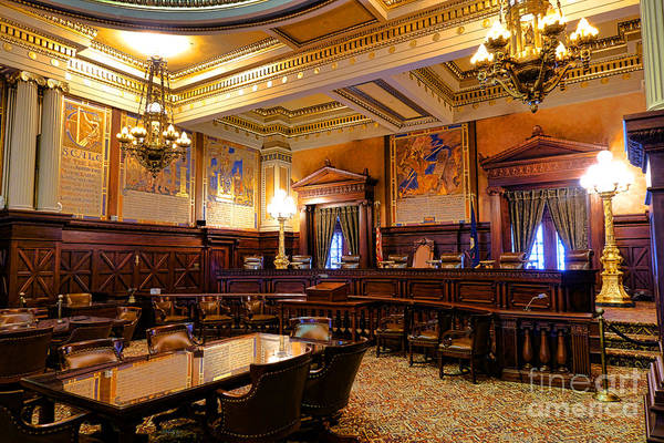 Harrisburg Pa Photograph - Pennsylvania Supreme Court  by Olivier Le Queinec