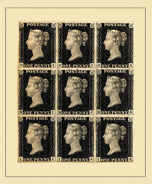 Photograph - Penny Black B by Andrew Fare