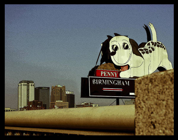 Photograph - Penny Poster by Just Birmingham