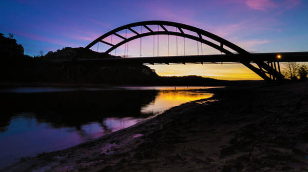 Photograph - Pennybacker Bridge by Jay Anne Boza