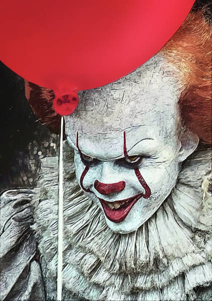 Wall Art - Digital Art - Pennywise by Zapista Zapista