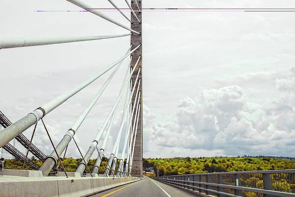 Photograph - Penobscot Narrows Bridge by Kay Brewer
