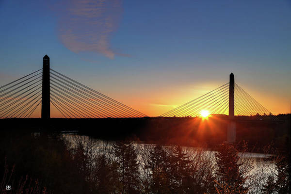 Photograph - Penobscot Narrows Sunrise by John Meader