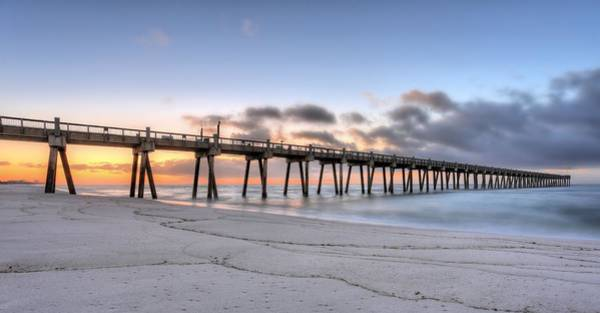 Wall Art - Photograph - Pensacola Beach Pier Panoramic by JC Findley