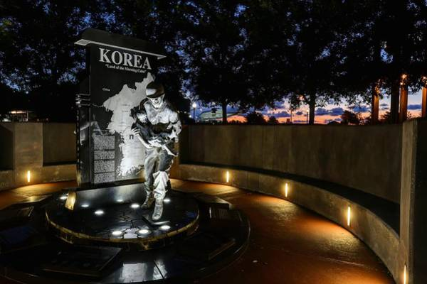 Pensacola Photograph - Pensacola Korean War Memorila by JC Findley