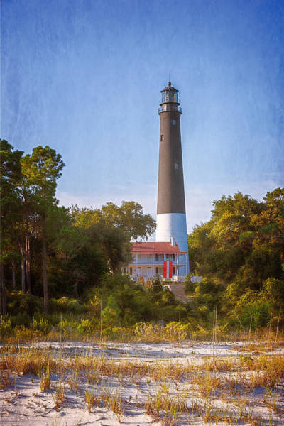 Photograph - Pensacola Lighthouse Afternoon by Joan Carroll