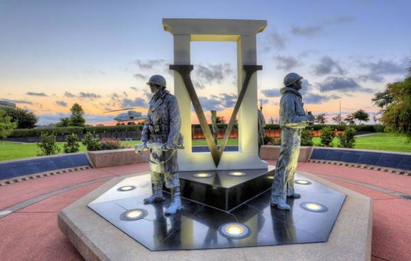 Photograph - Pensacola Wwii Memorial by JC Findley