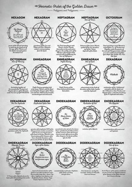 Satanism Digital Art - Pentagrams by Zapista Zapista