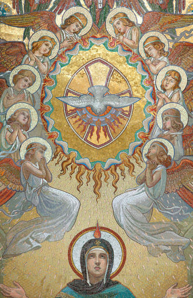 Holy Spirit Painting - Pentecost by Unknown