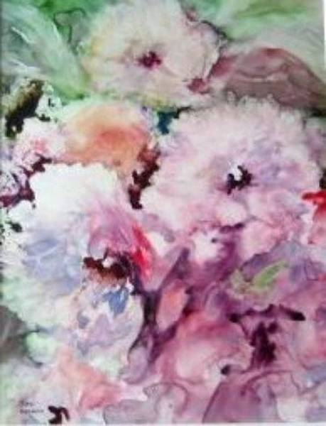 Painting - Peonies by Sue Nelson