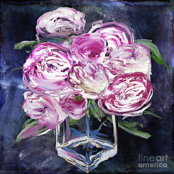 Wall Art - Painting - Peony Jar by Mindy Sommers
