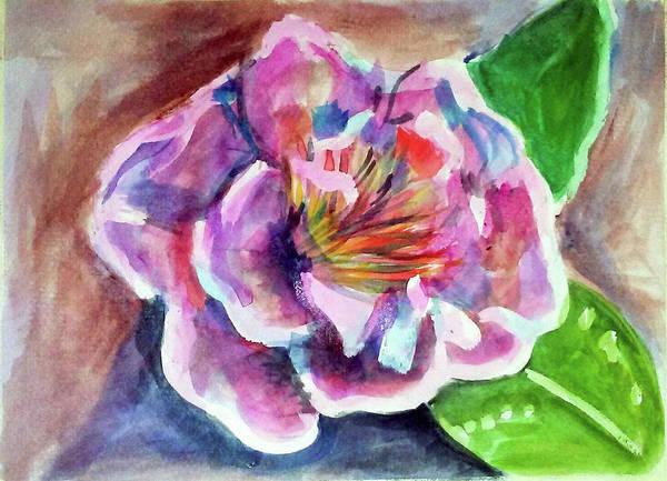 Painting - Peony by Loretta Nash