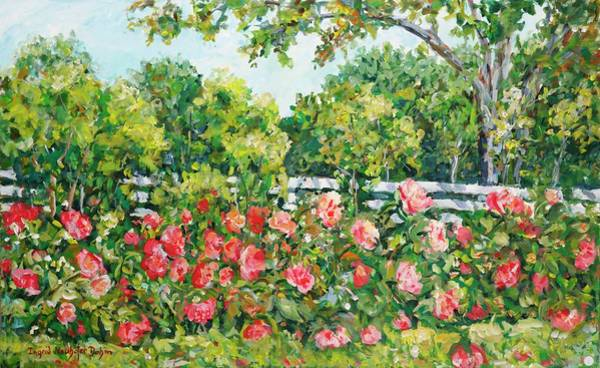Painting - Peony Riot by Ingrid Dohm