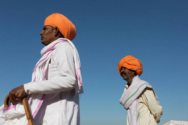 Photograph - People At Pushkar by Mahesh Balasubramanian