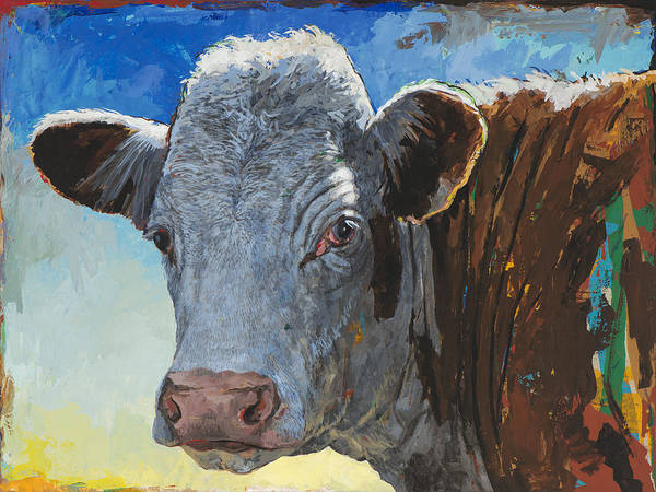 Wall Art - Painting - People Like Cows #17 by David Palmer