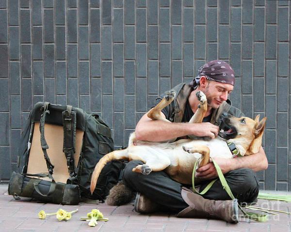 German Shepherd Photograph - People Lover by Joe Pratt