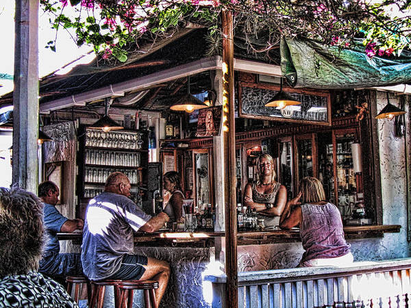 Pepes Cafe Art Print by Joetta West