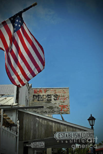 Photograph - Pepes Key West by Jost Houk