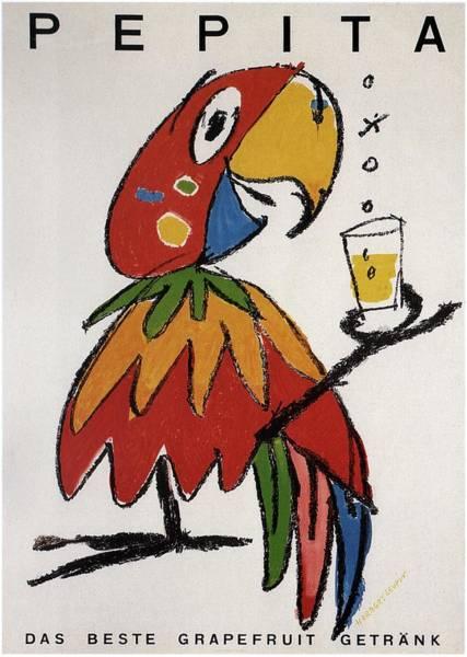Pepita - Grapefruit Drinks - Vintage Advertising Poster Art Print