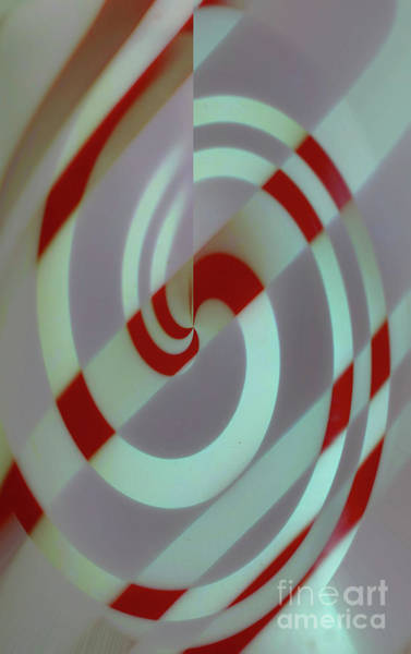 Photograph - Peppermint Abstract by Patti Whitten