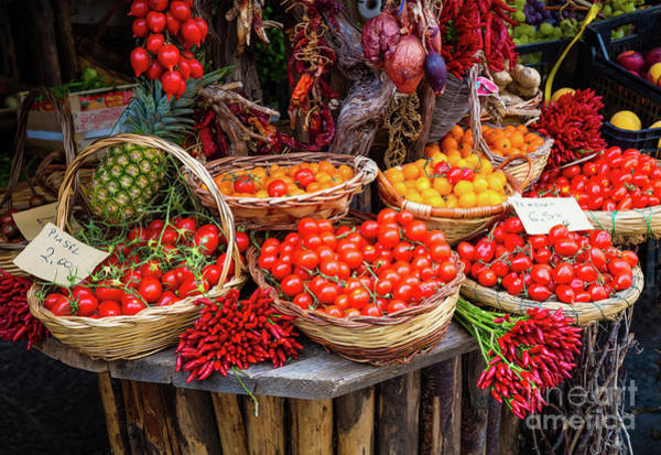 Photograph - Peppers And Tomatoes by Inge Johnsson
