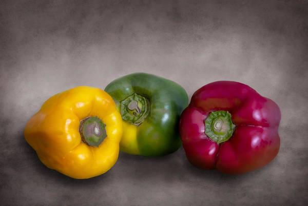 Vegetal Photograph - Peppers by Hernan Bua
