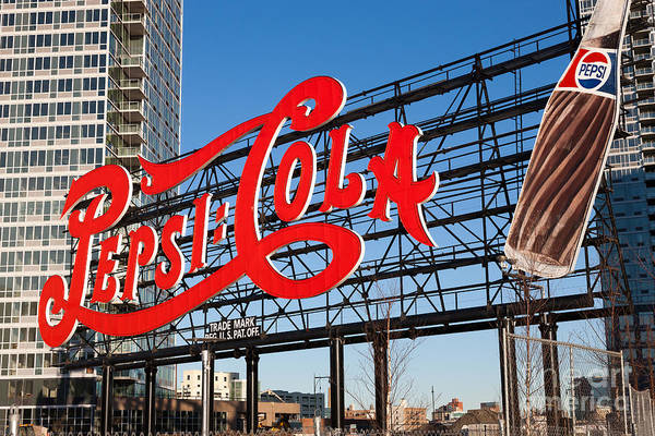Pepsi-cola Sign I Art Print