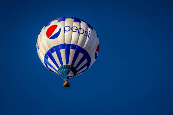 Photograph - Pepsi - Hot Air Balloon by Ron Pate