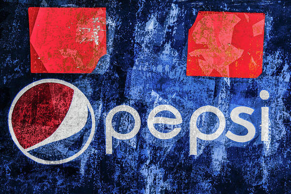 Photograph - Pepsi On Wall, Manila by Michael Arend