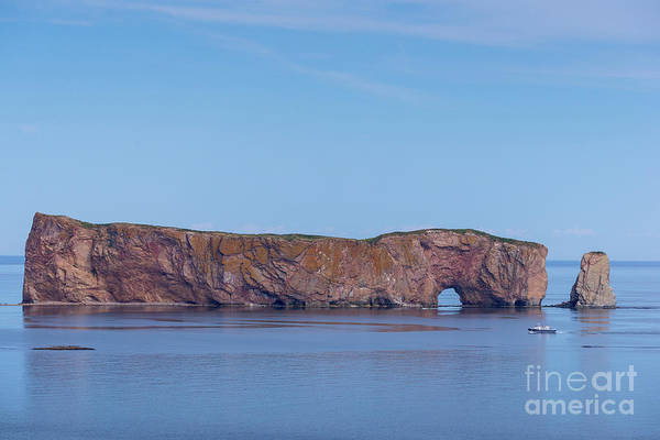 Photograph - Perce Rock  by Les Palenik